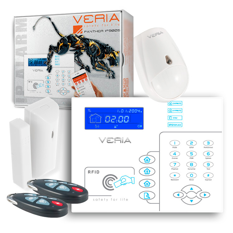 GSM/IP alarm VERIA IP 9005B Panther SET
